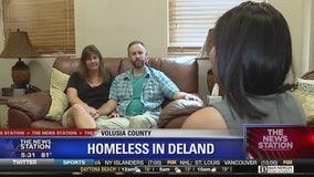 Homeless woman stabbed over blanket