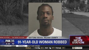 Elderly woman and her daughter robbed