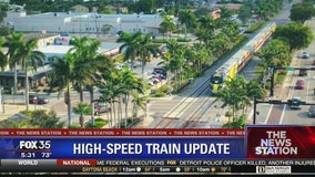 Update on Virgin Trains high-speed train line from Miami to Orlando