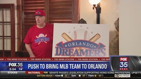 Push to bring MLB team to Orlando announced