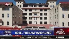 Vandals strike Historic Hotel Putnam in DeLand