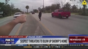 Man threatens to blow up sheriff's home, deputies say