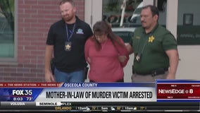 Mother-in-law of murdered Osceola County woman arrested