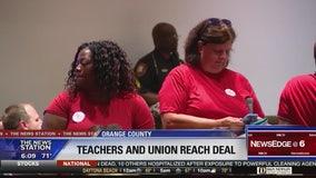 Orange County teachers reach contract deal