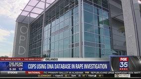 Police using DNA database in rape investigation