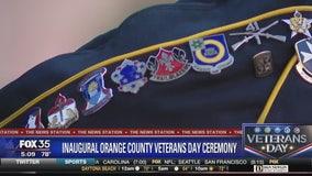 Inaugural Orange County Veterans Day ceremony