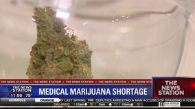 Patients report shortage of smoke-able medical marijuana
