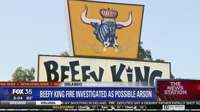 Iconic Beefy King restaurant fire investigated as possible arson
