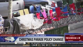Policy change for Christmas parade in Lakeland