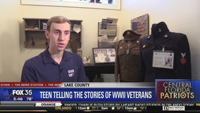 Teen collects stories and artifacts from veterans to keep stories alive