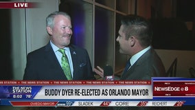 Buddy Dyer reelected as Orlando mayor
