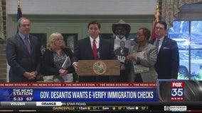 DeSantis call for E-Verify system in Florida