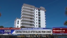 Worker falls eight stories to his death at condominium