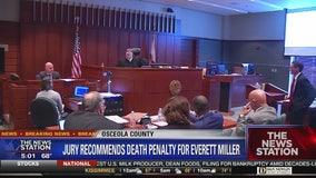 Jury recommends death in Everett Miller murder trial
