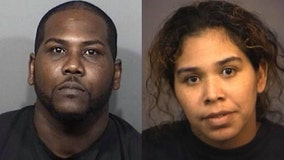 Sheriff: 2 arrested after severely neglected dog suffered from hypothermia, life-threatening anima, parasites
