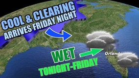 Another cold front expected to arrive in Central Florida this weekend