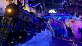 All aboard! ICE! at the Gaylord Palms featuring The Polar Express is now open