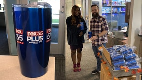 FOX 35 goes green: Replaces disposable cups with tumblers