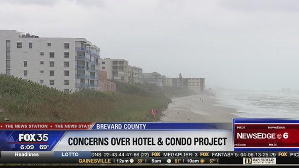 Concerns over hotel and condo complex