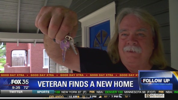 Veteran finds a new home