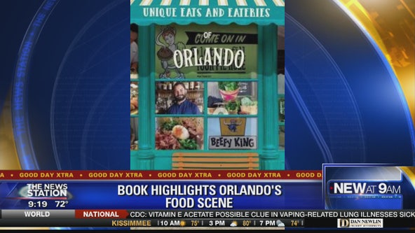 'Unique Eats and Eateries of Orlando' book highlights city's food scene
