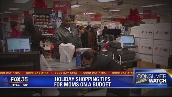 Holiday shopping tips for moms on a budget