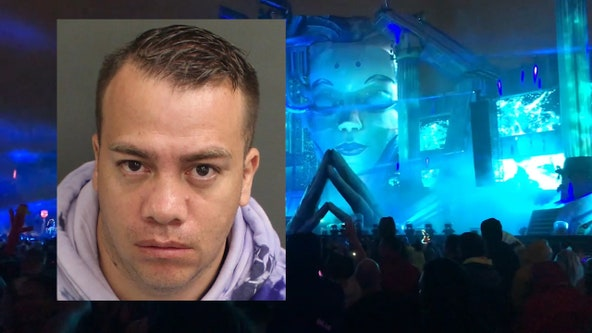 Man accused of stealing 34 cellphones at Electric Daisy Carnival