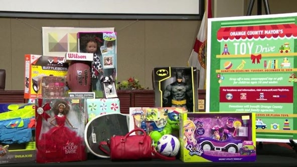 9th annual Orange County Mayor's Toy Drive aims to help Central Florida families in need