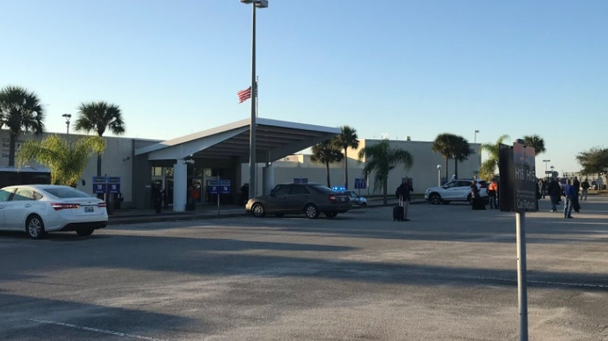 Bottle of lotion flagged at security prompts evacuation at Daytona Beach airport
