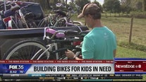 Organization re-purposes bikes for people in need