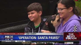 'Operation Santa Paws' delivers shelter pets to families in Lake County