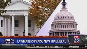 Lawmaker praise new trade deal