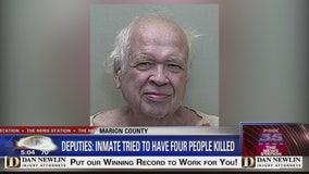 Deputies say inmate tried to have 4 people killed
