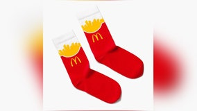 Would you like socks with that? McDonald's drops new branded merchandise line