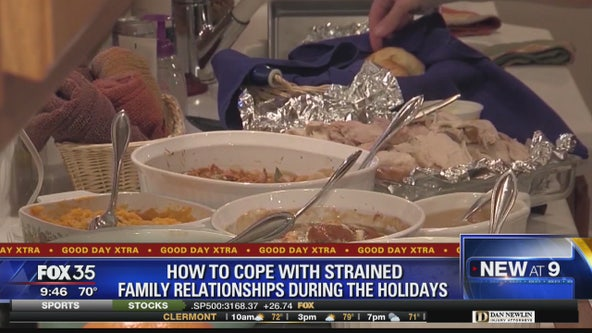 How to cope with strained family relationships during holidays