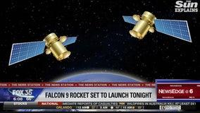 Falcon 9 rocket set to launch Monday night
