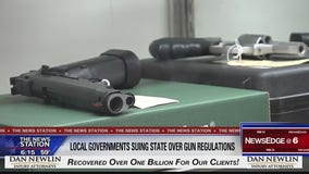 Local governments suing state over gun regulations