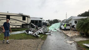 National Weather Service confirms two tornadoes touched down in Lake, Volusia Counties