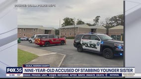 Ocala boy accused of stabbing younger sister