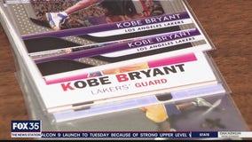 Fans looking to buy Kobe Bryant merchandise