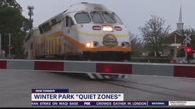 Quiet zones restrict trains from blaring horns in Winter Park