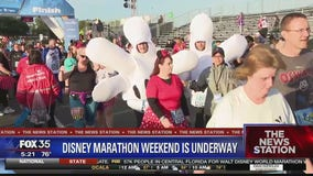 Walt Disney World Marathon Weekend underway