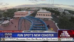 Fun Spot debuts new coaster