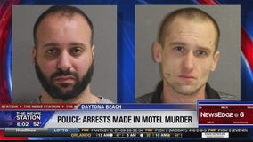 Arrests made in Daytona Beach motel death
