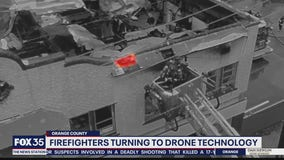 New drone technology helps Orlando firefighters battle flames
