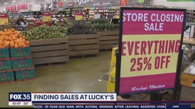 Grocery store chain offering sales after announcements of closings