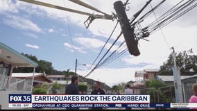 Earthquakes rock Caribbean