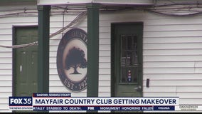 Mayfair Country Club in Sanford getting makeover