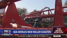 SeaWorld Orlando constructing Ice Breaker roller coaster