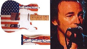Police: Valuable guitars signed by Springsteen, Dylan and others stolen from Florida storage facility
